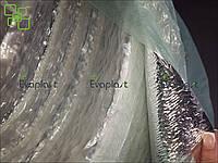 Тепло-звукоизоляция для стен и потолка ЛАЙТ 8 мм самоклеющаяся метализированная Evaplast пенополиэтилен НПЭ, фото 1