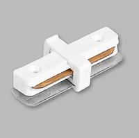 Коннектор прямой для шинопровода однофазного белый LD1000 Feron