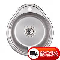 Кухонная мойка Imperial 4843 (0.6мм) Decor