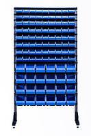 Витрина с пластиковыми ящиками 1.8 м  Синий