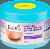 Ватные диски с мицеллярной водой для снятия макияжа без масла, 50 шт.