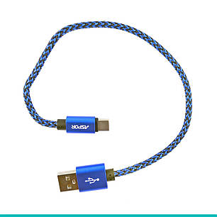 USB кабель Aspor A162 Type-C Nylon Cable, фото 2