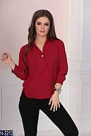 Блуза (42, 44, 46, 48) — полиэстер купить оптом и в Розницу в одессе 7км