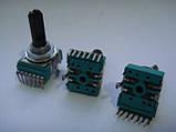 Потенциометр DELTA b10k, 7ног для Pioneer djm600, фото 3