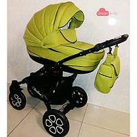 """Детская коляска 2 в 1 """"AVALON"""", салатовая, фото 1"""