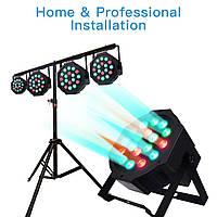 Led par 18х1 световой прибор светомузыка, подсветка предметов, сцен