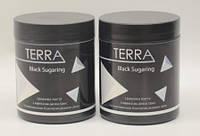 Средне Мягкая Черная Паста для Шугаринга Terra - 3 Soft Plus 700 гр. 500 мл.