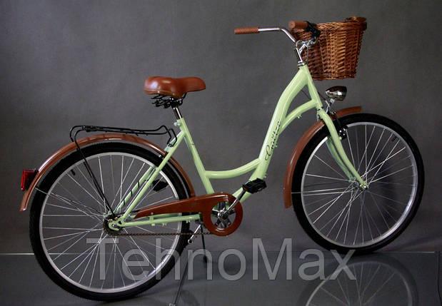 """Велосипед міський Goetz 28"""" Eco + кошик +фари, фото 2"""