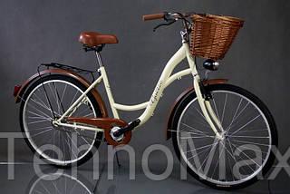"""Велосипед міський Goetz 28"""" Eco + кошик +фари, фото 3"""
