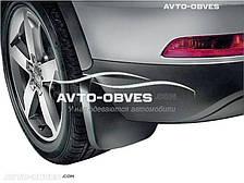 Брызговики оригинальные Audi Q3 2015-... рестайл, задние 2шт