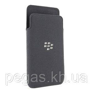 Чехол BlackBerry Z10 микрофибра. Черный