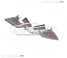 Брызговики оригинальные Porsche Cayenne 2003-2007,задние кт. 2 шт