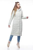 Пальто женское демисезонное Сима, размер 50 зефир