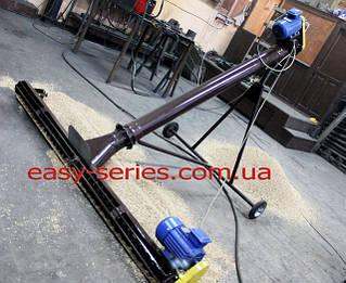 Шнековый транспортёр (погрузчик) с подборщиком 108 мм.