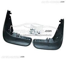 Брызговики оригинальные Volkswagen Jetta 2006-2011 без молдинга по порог, передние 2шт