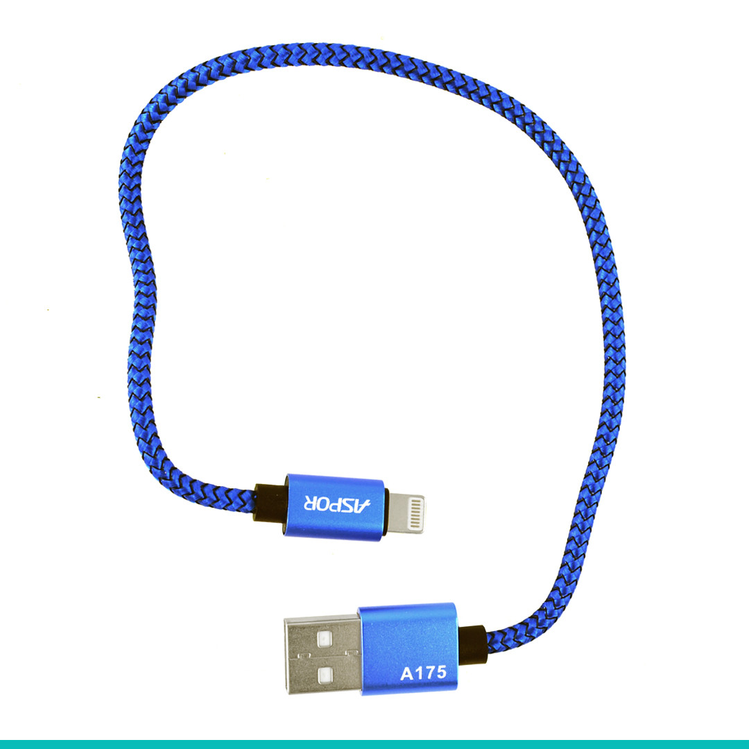 USB кабель Aspor A175 IPhone5 Nylon Cable