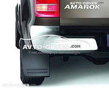 Брызговики оригинальные Volkswagen Amarok 2016-... c расшир арок, задние 2шт