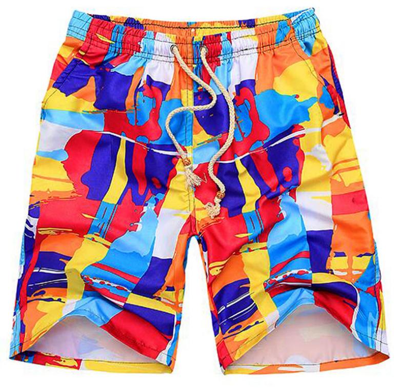 Пляжные яркие летние шорты XXL XL