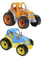 Пластиковый трактор