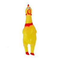 Игрушка латексная Курица 17 см