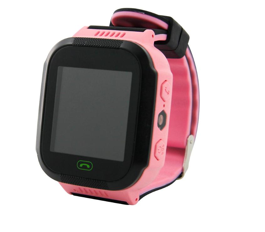 Детские смарт-часы q520 (Розовые) 1487