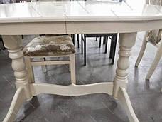 Стол овальный раскладной  Говерла  Микс мебель, цвет слоновая кость, фото 2