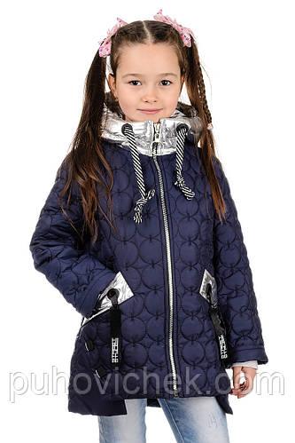 Модная куртка для девочки весна осень Украина