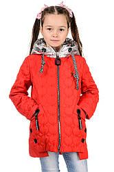 Демисезонная куртка детская для девочки красивая