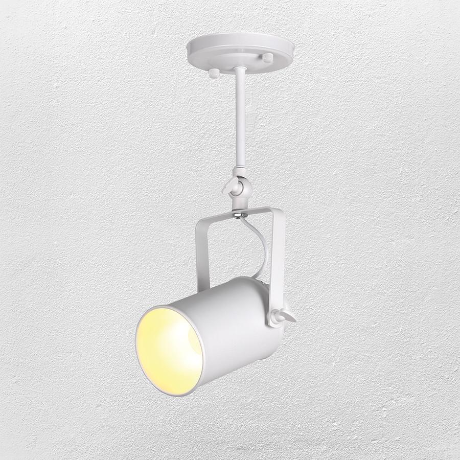 Прожектор потолочный  лофт  52-1207А-1 WH