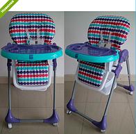 Детский стульчик для кормления BAMBI M 3233-12 фиолетовый ***