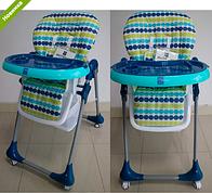 Детский стульчик для кормления BAMBI M 3233-9 синий ***