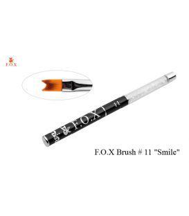 Кисть для французского маникюра F.O.X. 11 (Smile)