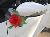 Бутоньерка на свадебную машину