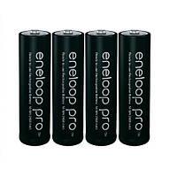 Прогрессивный аккумулятор Panasonic Eneloop Pro AA 2450 mAh 4 шт. Хорошее качество. Доступно. Код: КГ3449