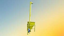 Вертикальный шнековый транспортер 133 мм