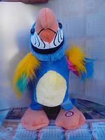 Игрушка говорящий и двигающийся  попугай