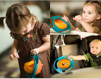 Тарелка-неваляшка,Тарелка-непроливайка   Universal Gyro Bowl, фото 1