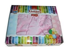 """Турецкий пледик - одеялко для детей  """"Golden spring"""" (светло голубой), фото 3"""