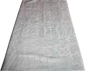 """Турецкий пледик - одеялко для детей  """"Golden spring"""" (светло голубой), фото 2"""