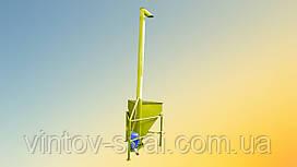 Вертикальный шнековый погрузчик 108 х 3000 мм.