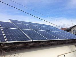 Одесса солнечная электростанция сетевая под зеленый тариф 10 кВт Omron