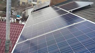 монтаж солнечных панелей Ja solar JAP6(K) 60 SE 270W