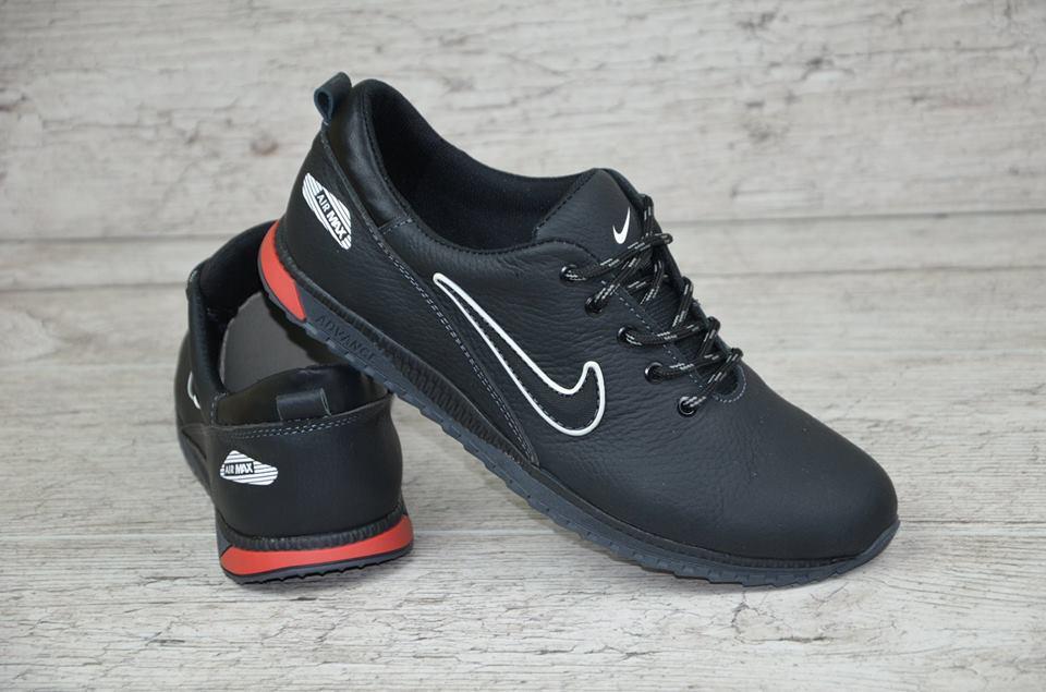 544f435e64d2 Мужские кожаные кроссовки Nike (копия)  продажа, цена в Киеве ...