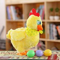Музыкальная игрушка Курица несет яйца, курочка несушка, фото 1