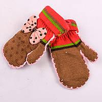 Красивые детские варежки для девочек Tanya 03-09-6