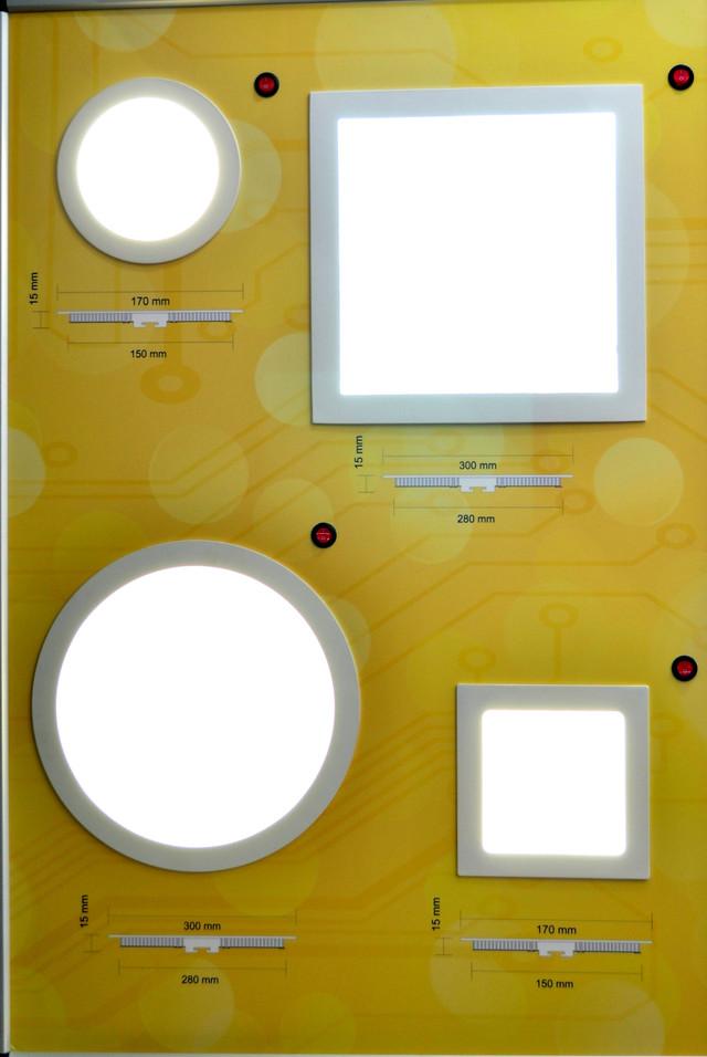 Встариваемый LED светильник (12 Вт, квадрат 170х170) Bellson