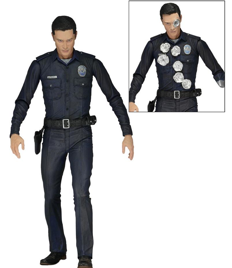 Фигурка Neca Т1000  из к\ф Терминатор Генезис (Полиция)