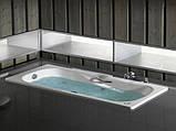 Ванна стальная Roca Princess 150x75 A220470001 с ручками, фото 2