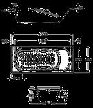 Ванна стальная Roca Princess 150x75 A220470001 с ручками, фото 3