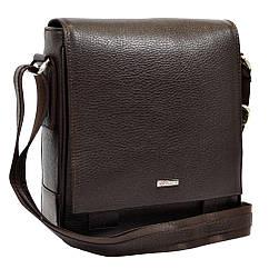 Шкіряна чоловіча сумка – планшет Desisan